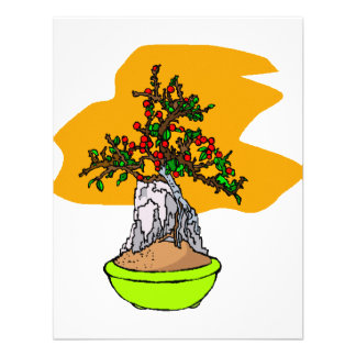 Root Over Rock Berry Bonsai Graphic Image Invites