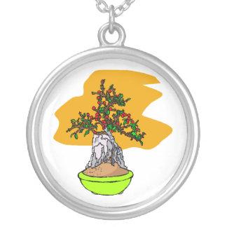 Root Over Rock Berry Bonsai Graphic Image Custom Jewelry