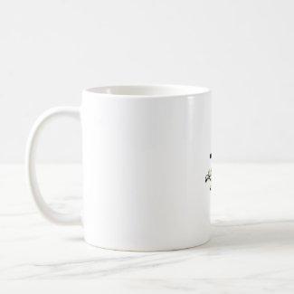 Root Over Rock Upright Pine Bonsai Graphic Image mug