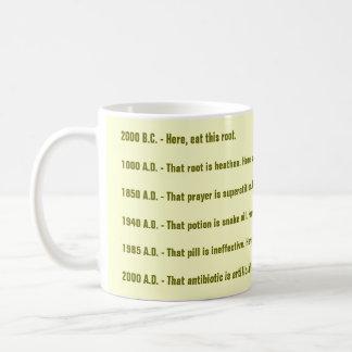 Root-to-Root Drinkware with Tao Symbol Classic White Coffee Mug