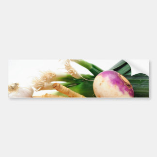 Root Vegetables Bumper Sticker