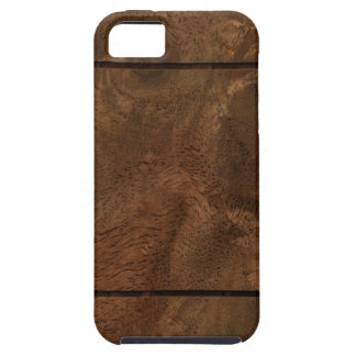 Root wood line inlay iPhone SE/5/5s case