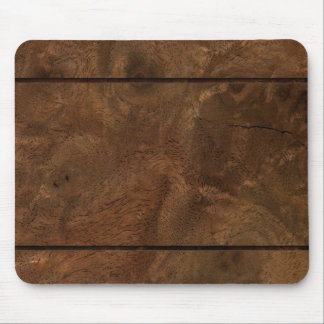Root wood line inlay mouse pad
