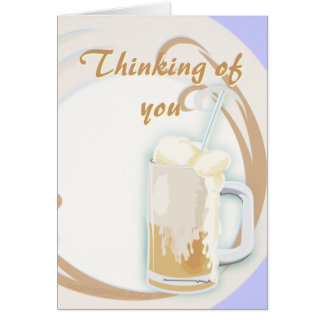 Rootbeer Float Card