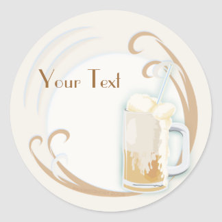 Rootbeer Float Stickers