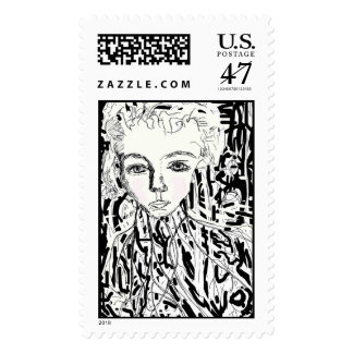 Rooted and Established Postage Stamp