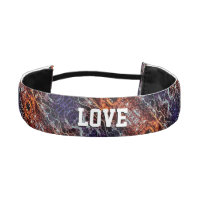 Rooted And Firmly Grounded In Love Lm Athletic Headband