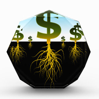 Rooted Dollar Signs Award