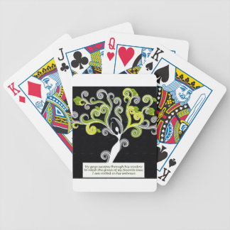 Rooted in His Embrace Bicycle Playing Cards