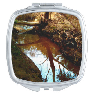 Rooted Reflections Compact Mirror