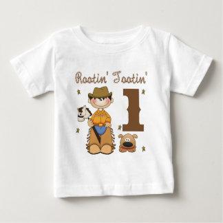 Rootin Tootin Cowboy 1 Baby T-Shirt