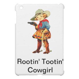 Rootin Tootin' Cowgirl IPad Case