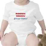 ROOTIN' TOOTIN' If I eat Gluten - Funny GF humor T-shirts