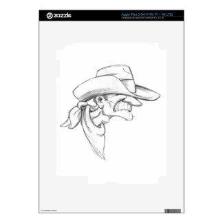 Rootin Tootin Prospector iPad 3 Decal