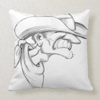 Rootin Tootin Prospector Throw Pillow