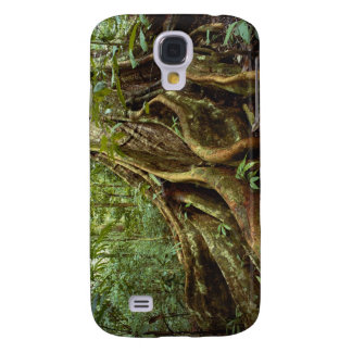 Roots and Trunk of Sloanea Tree Samsung Galaxy S4 Covers