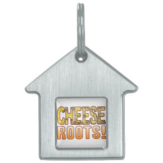 Roots Blue Cheese Pet ID Tag