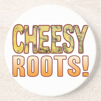 Roots Blue Cheesy Drink Coaster