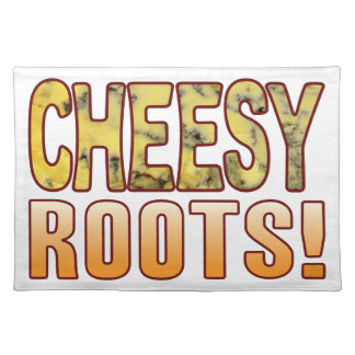 Roots Blue Cheesy Placemat