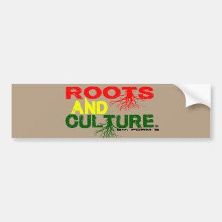 roots bumper sticker car bumper sticker