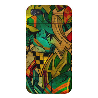 Roots Cover For iPhone 4