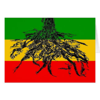 Roots Flag Card