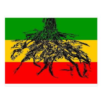 Roots Flag Postcard