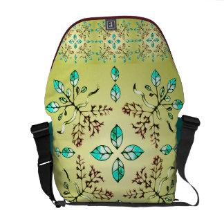 Roots & Leaves Messenger Bag