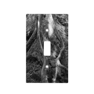 Roots Light Switch Plate