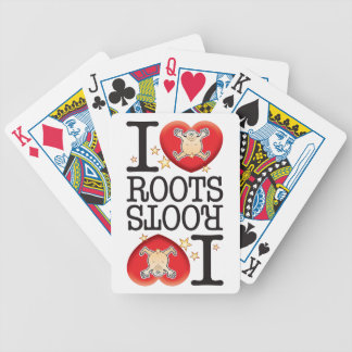Roots Love Man Bicycle Playing Cards