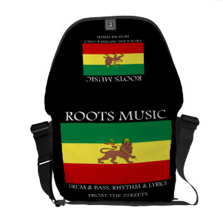 Roots Music Rasta Rickshaw Messenger Bag