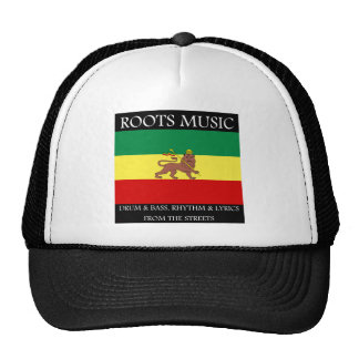Roots Music Reggae Ghetto Music from the streets Trucker Hat