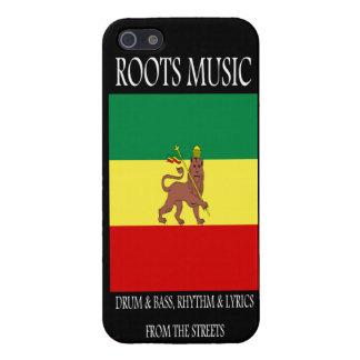 Roots Music Reggae Rasta Case For iPhone SE/5/5s