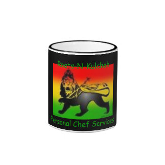 Roots-N-Kulchah Products - Customized Ringer Coffee Mug