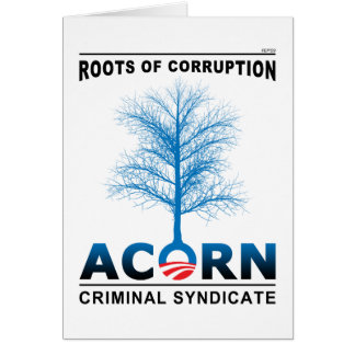 Roots of Corruption Greeting Card