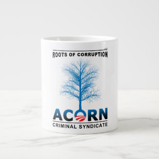 Roots of Corruption Large Coffee Mug