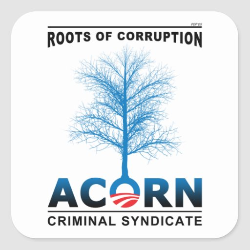 Roots of Corruption Square Stickers