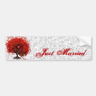 Roots of Love Bumper Sticker