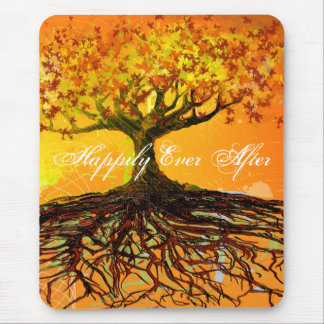 Roots of Love Mouse Pad