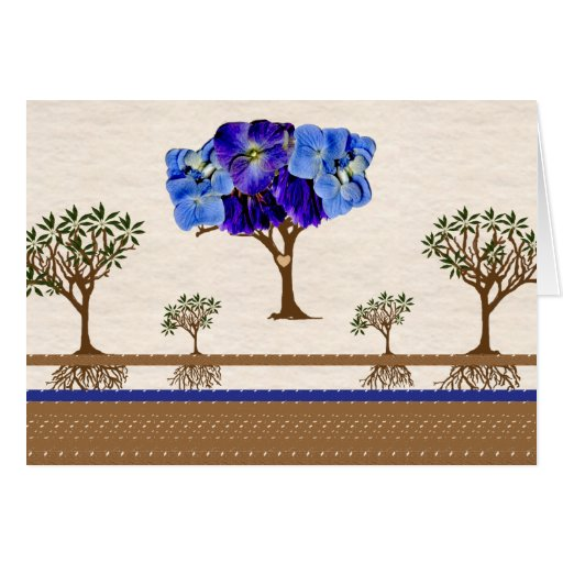 Roots of Love Note Card