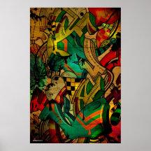 Roots Print
