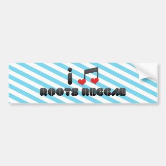 Roots Reggae fan Bumper Sticker