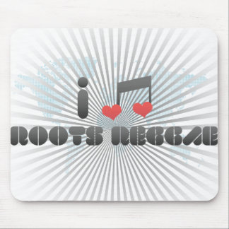 Roots Reggae fan Mouse Pad