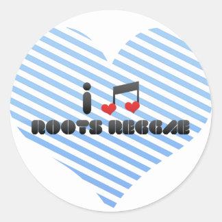 Roots Reggae fan Stickers