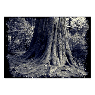 Roots Tree Large Business Card