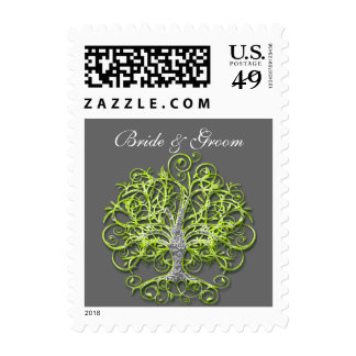 Roots Tree of Love Wedding Supplies Postage