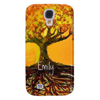 Roots Tree Orangerie iPhone Cover Samsung Galaxy S4 Case