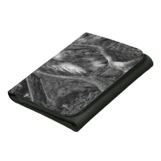 Roots Leather Tri-fold Wallet
