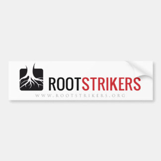 Rootstrikers Bumper Sticker
