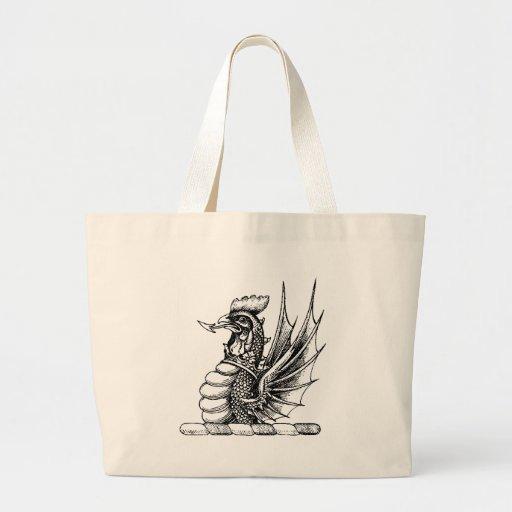 Ropa 11 del dragón bolsa de mano